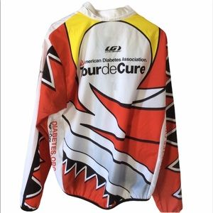 Louis Garneau Tour De Cure Bike Jacket Windbreaker